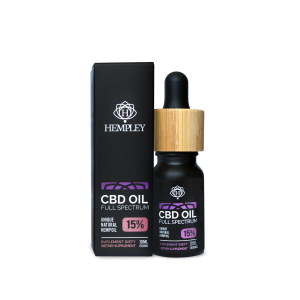 Olejek CBD 15%  Hempley 10ml