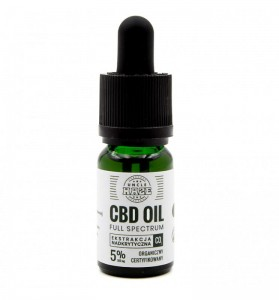 Olejek CBD 5% 500mg Pro Uncle Haze 10ml