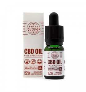 Olejek CBD 15% 1500mg Pro Uncle Haze 10ml
